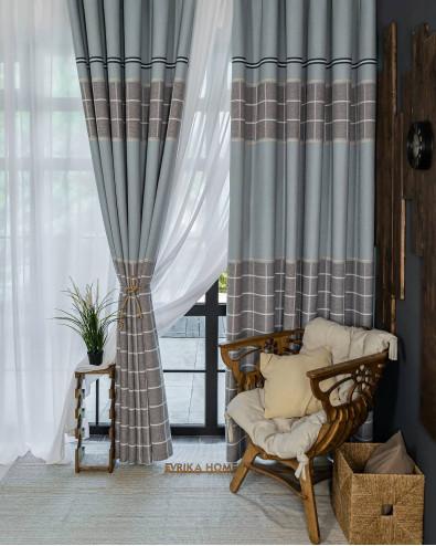 Принципы сочетания штор и мебели