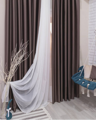 Сочетание штор и тюля: как правильно подобрать цвета