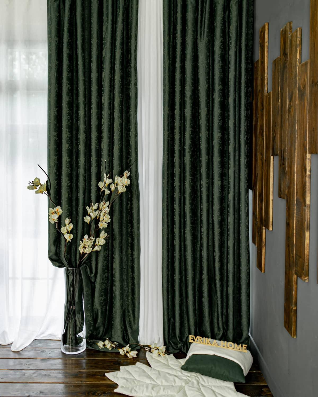 Зарина Темно-зеленая